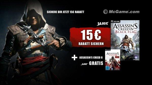 Assassin's Creed 4: Black Flag (PC) für 39,95€ bei McGame für GameStar-User