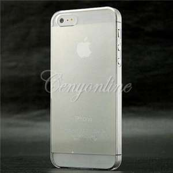 Transparentes Cover für iPhone 5 / 5S für 1€ inkl. Versand