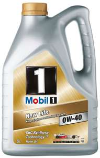 Mobil 1 0W40 New life für 6 € / Liter (!!QIPU 5,70€/L!!)  Kostenlose Lieferung