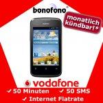 Einsteiger Smartphone Huawei Ascend Y200 für 24,90€ durch Vertragsabschluss (monatlich kündbar!)