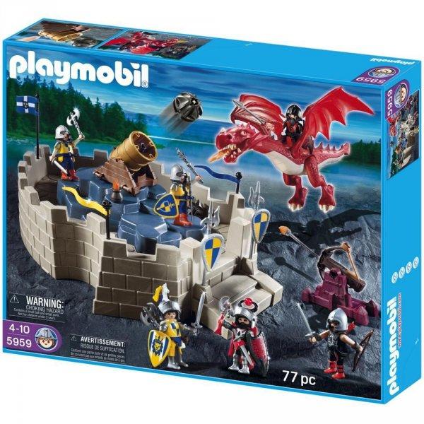 Playmobil™ - Ritterfestung mit Drachen (5959) ab €19,50 [@Karstadt.de]