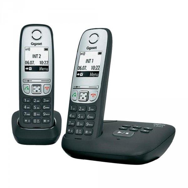 Gigaset A415A Duo schnurloses analog Telefon, Anrufbeantworter [B-Ware] @ebay 36€
