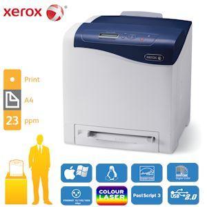 Xerox Phaser 6500V_N Farblaserdrucker mit bis zu 23 Seiten pro Minute in Farbe und Schwarz-Weiß