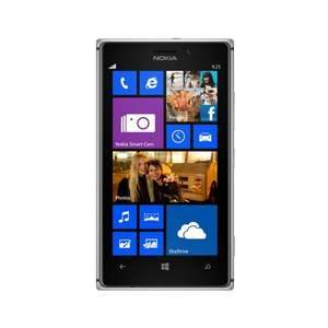 "Nokia™ - Lumia 925 Smartphone (4.5"" AMOLED 1280x768,8.7MP/AF/D-LED Cam,16GB,LTE,NFC,WP 8) für €337,89 [@Gravis]"