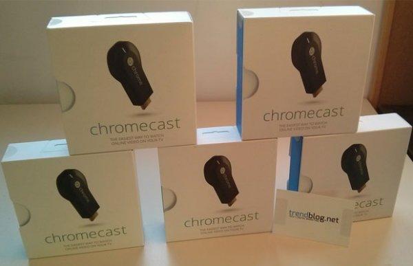 Chance auf einen von 5 Chromecasts [Gewinnspiel]
