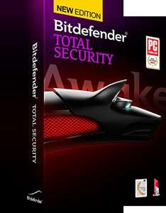 Bitdefender Total Security 2014 3PC 1 Jahr 29,95€