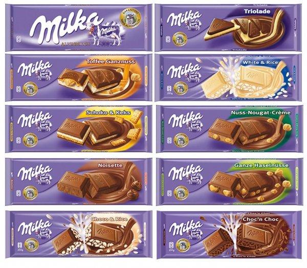 HIT Markt (offline, bundesweit) Milka Schokolade 300g Tafel € 1,49 bis 02.11.2013