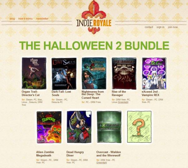 [Steam] [Indie Royale] The Halloween 2 Bundle