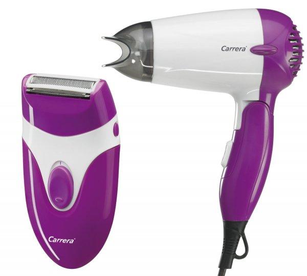 Carrera Beauty Reise-Haartrockner 1200 W & Ladyshaver für 9,99€ inkl. Versand @Digitalo