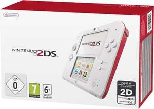Nintendo 2DS weiß/rot [Intertoys- Online&Offline]