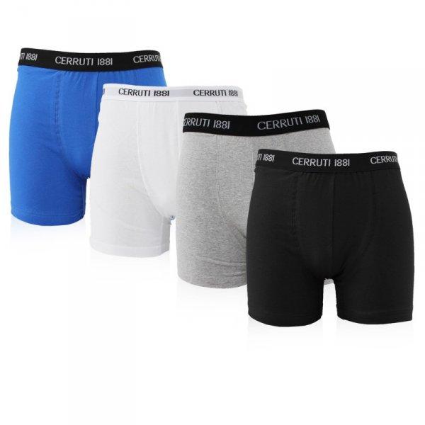 6er Pack Cerruti Boxershorts in vier verschiedenen Farben oder im Mix für 22,99