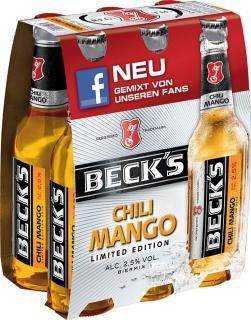 Beck´s Chili Mango 6x0,33 für 60cent! im Kaufland Duisburg-Hamborn