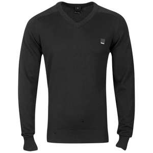 BENCH MEN'S UNBEATABLE V-NECK KNIT - BLACK @thehut 14,65€