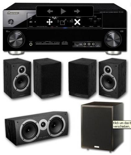 Beendet! Pioneer VSX-920 + Tannoy SW + Wharfedale Crystal 5.0 Lautsprecher bei soundpick.de