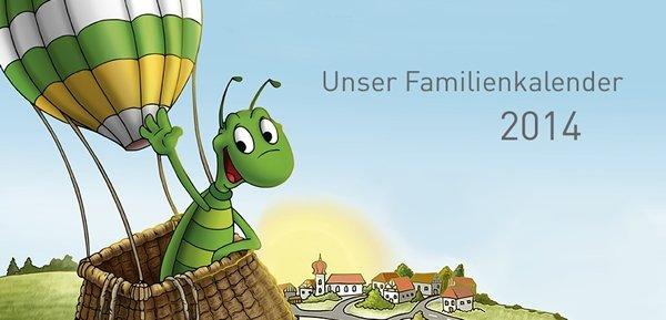 Familienkalender kostenlos bestellen
