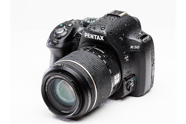 Pentax K-50 Kit 18-55mm WR + 50-200mm WR für 649 € (Pentaxshop)