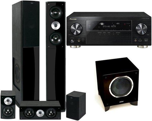 soundpick Pioneer VSX-923-K, Eltax Shine 5.0 und Energy ESW-V10CE