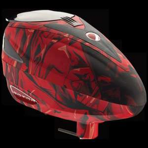 Paintball DYE-Rotor Red Cloth - Best Hopper ever^^