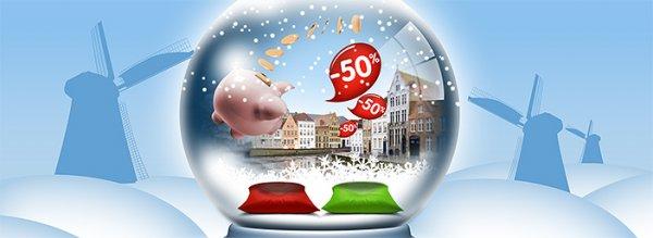 Hotel: Ibis Benelux 2 für 1 Angebot (50% Rabatt) - zentrales Hotel in Amsterdam ab 47,- € pro Nacht - in Brügge ab 34,- € pro Nacht (Dezember - Februar)