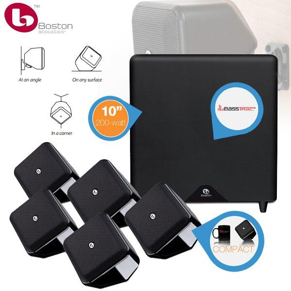 Boston Acoustics Soundware S 5.1 für 308,90€ inkl. 50€ Wertgutschein für Hificorner.nl @iBood