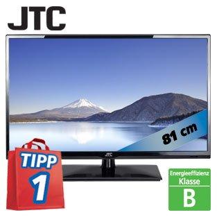 "32""-FullHD-LED-TV JTC32TT 81 cm mit Triple-Tuner bei Real ab Montag 04.11. für 199,00€"