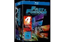 Fast & Furious 1-4  [8 Blu-rays] 23,13€ @ Amazon.UK