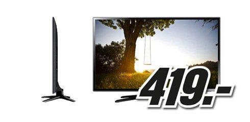 Samsung UE40F6170SS 3D Full HD LED-TV - ink. zwei 3D-Brillen - Samstag von 7-9 Uhr bei Mediamarkt Österreich