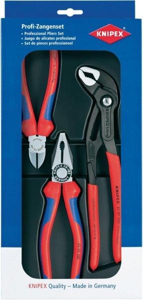 Knipex Zangen-Set 3tlg. 00 20 09 V01
