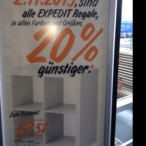 [IKEA Ulm] 20% auf alle Expedit