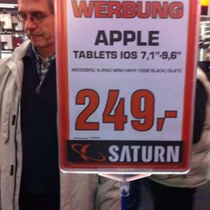 iPad mini 16GB, Black ( Lokal? Saturn Hannover City)