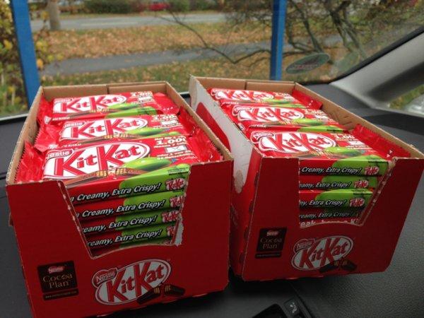 KitKats mit etwas Glück und Arbeit gratis