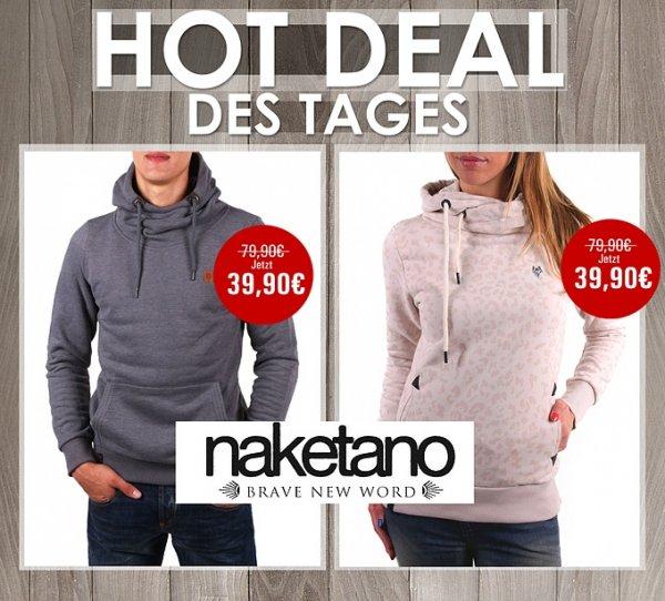 Naketano - Damen und Herren Hoodie 79,90€ für 39,90€