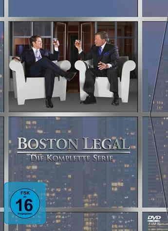 Boston Legal - Die komplette Serie [27 DVDs] für 48,99€ @ buecher.de