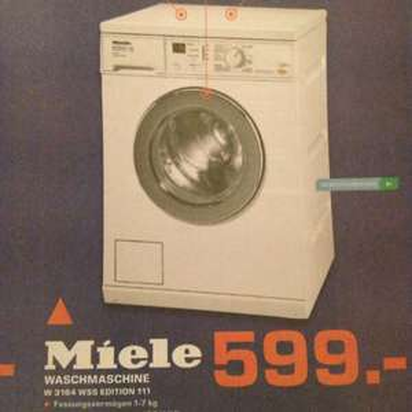 (Lokal Saturn Kiel) Miele W 3164 Wss Edition 111