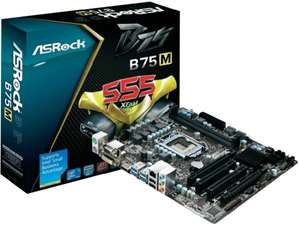 ASRock B75M R2.0 Mainboard (Motherboard) Sockel Intel® 1155 Chipsatz