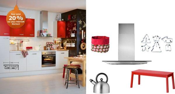 IKEA Faktum Küchen jetzt mit 20% Rabatt!!