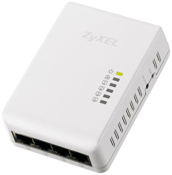 Zyxel 500 Mbps Powerline 4-Port Gigabit Switch (PLA4225) für 19,90€ bei notebooksbilliger.de ausverkauft