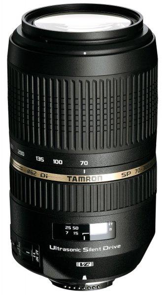 Tamron SP AF 70-300mm f4.0-5.6 Di VC USD [Nikon]  für 245,44 € @Amazon.fr