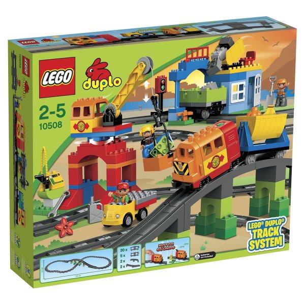 """Lego™ - """"Duplo: Eisenbahn Super Set"""" (10508) mit Gutschein für €79,99 [@Karstadt.de]"""