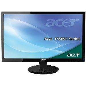 Acer P246HBD 60,9 cm (24 Zoll) widescreen TFT Monitor ( VGA, DVI, 5ms Reaktionszeit)