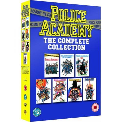Police Academy 1-7(DVD) nur Englisch für 12,30€ inkl. Versand bei zavvi