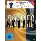 James Bond Jubiläumscollection inkl. Skyfall (23 DVD Box) für 69,00