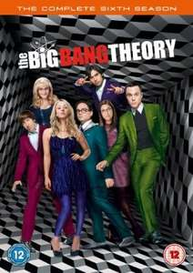 [amazon uk] big bang theory season 6, dvd