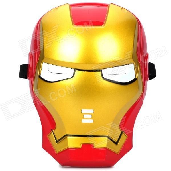 [ebay] Iron Man Maske mit LED-beleuchteten Augen für 2,27€