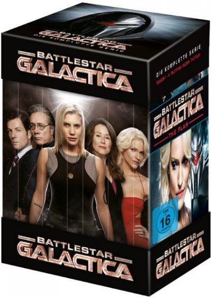 Battlestar Galactica - Die komplette Serie [25 DVDs] bei Amazon