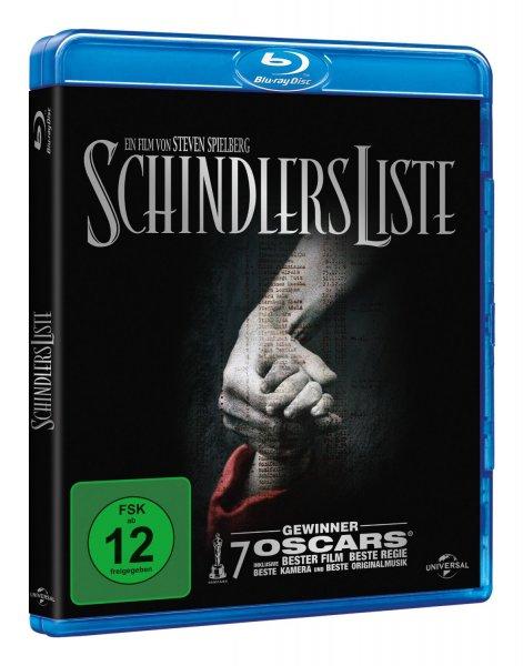 [Blu-ray] Schindlers Liste ~Liam Neeson von Steven Spielberg für 8,97 EUR inkl. Versand @ Amazon.de