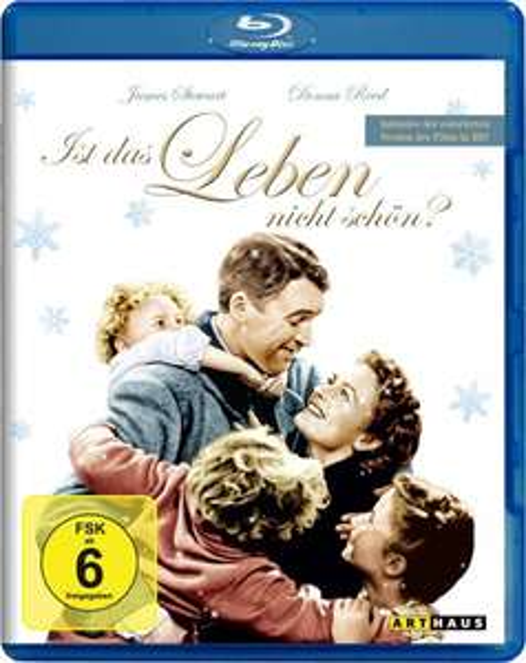 Amazon: Ist das Leben nicht schön? [Blu-ray] für 9,99 € inkl. Vsk