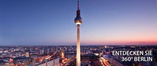 Kostenloser Eintritt für den Berliner Fernsehturm mit der DKB-Visa Kreditkarte