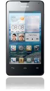 "Huawei Ascend Y300, 4 "" Zoll Display, 1 GHz Dual-Core, Android™ 4.1, black @ base.de"