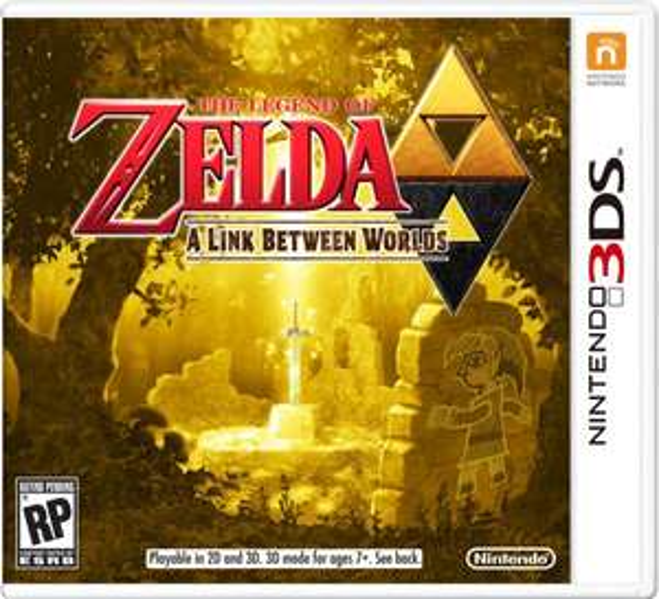 Zelda - A Link between Worlds 3DS für 26,79 € bei OTTO.de vorbestellbar
